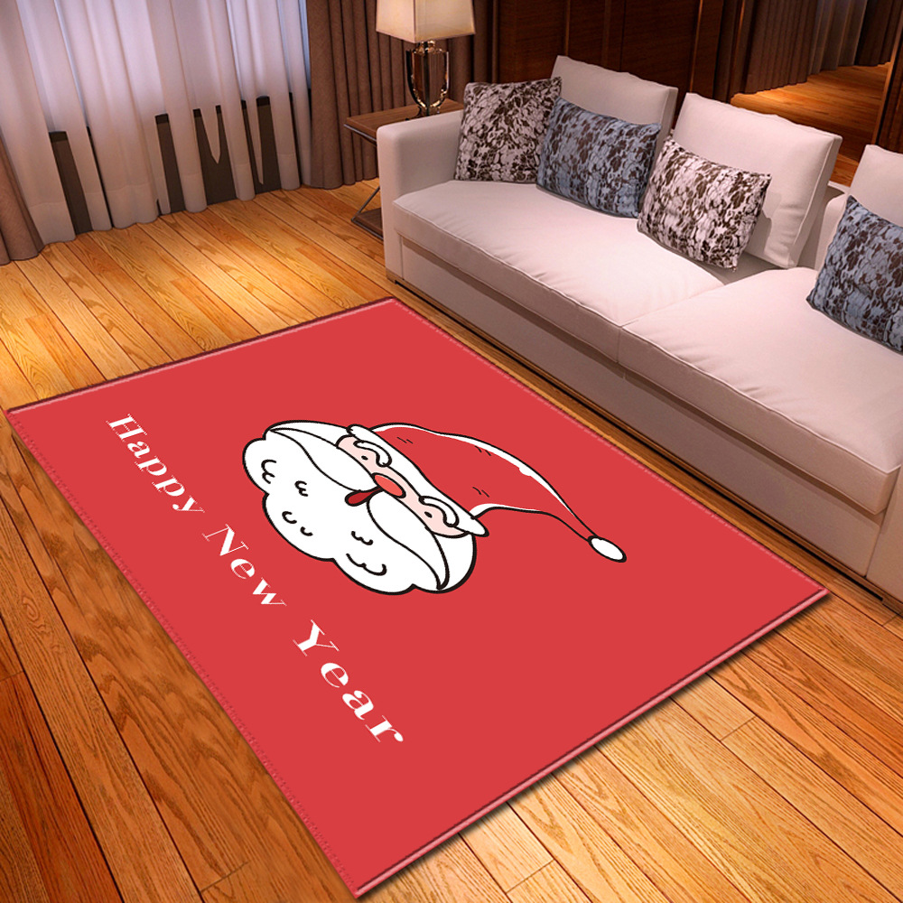 Christmas 3D Carpets For Living Room Bedroom Area Rugs Home Decor Large Size Carpet Xmas Pattern Kids/Children Room Game Mat/Rug