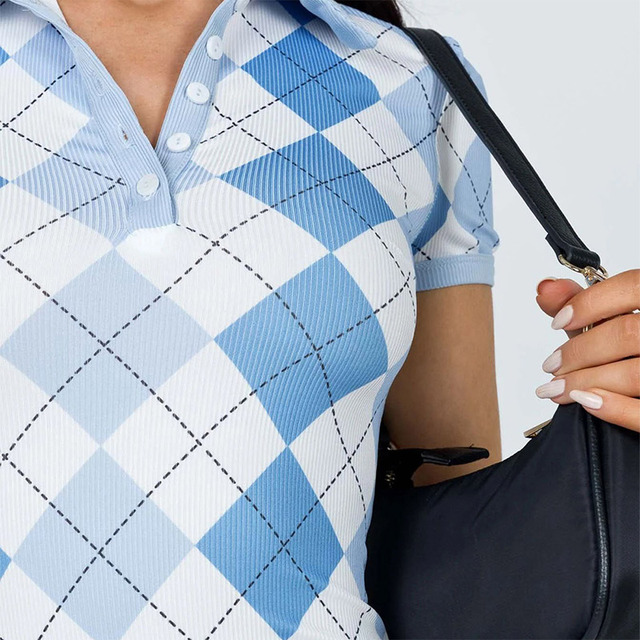 2021 Plaid Print Short Sleeve Summer Dresses Women Argyle Y2K E Girl Clothes Turn Down Collar Vintage Button Mini Dress 6