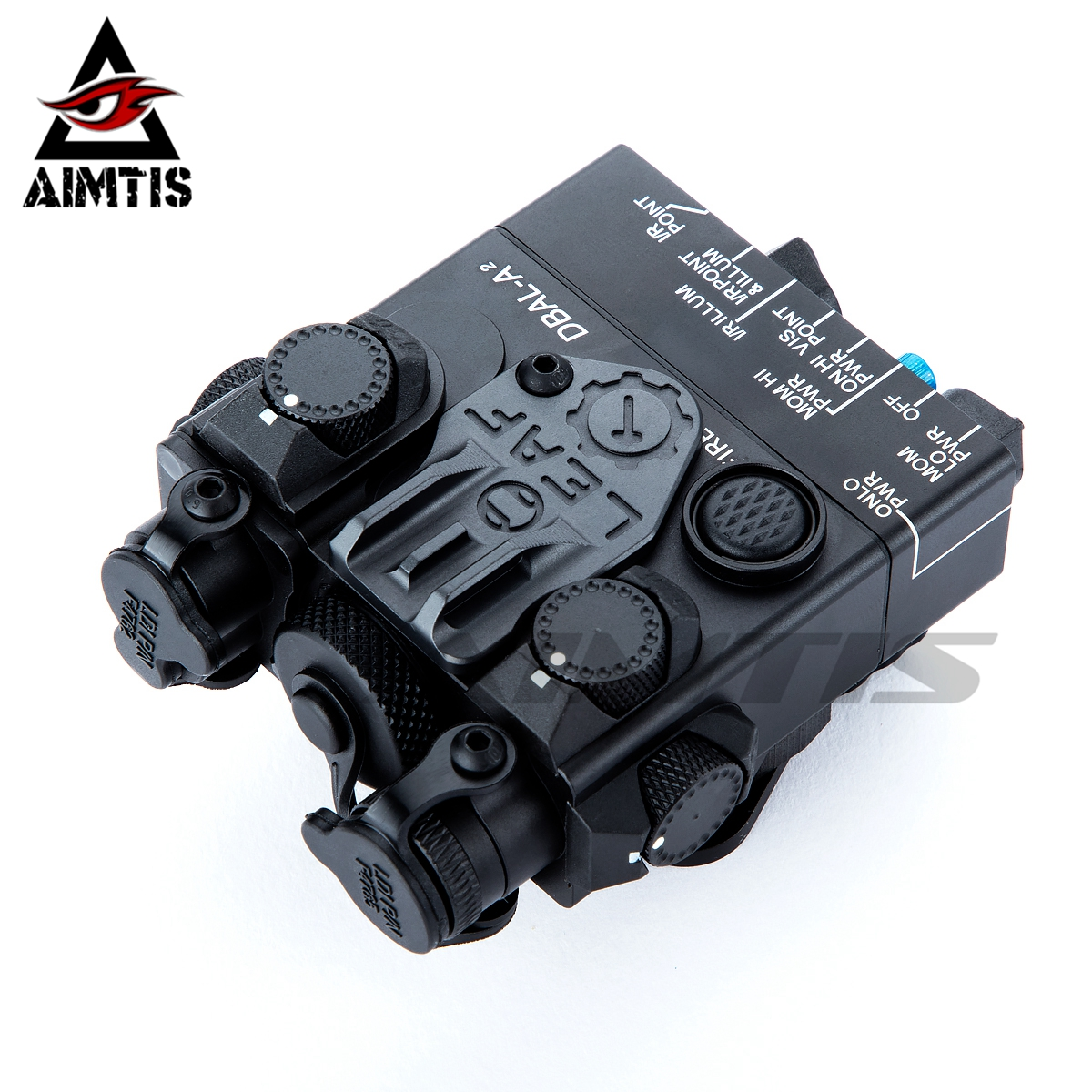 AIMTIS DBAL-A2 Weapon Light Red Laser Combo With Remote Switch Tactical Hunting Flashlight Rifle Airsoft LED
