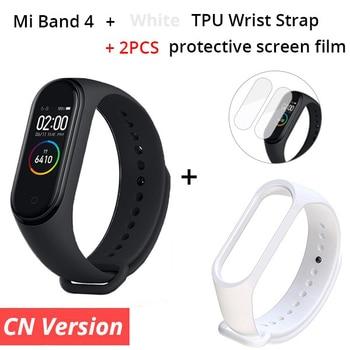 In Stock ! 2019 New Xiaomi Mi Band 4 Smart Color Screen Bracelet Heart Rate Fitness 135mAh Bluetooth 5.0 Waterproof Smart Watch 13