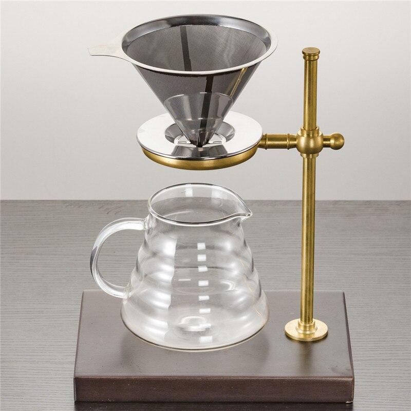 Filtre À café Goût Sucré Capsules En Acier Inoxydable Maille En Métal Entonnoir Paniers Capsule de Café Filtres Verser Sur Machine Pour le Café