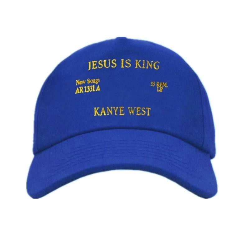 New Kanye West Jesus Is King Album Baseball Caps Embroidery Dad Hat Unisex Women Man Hats Latest Album Snapback
