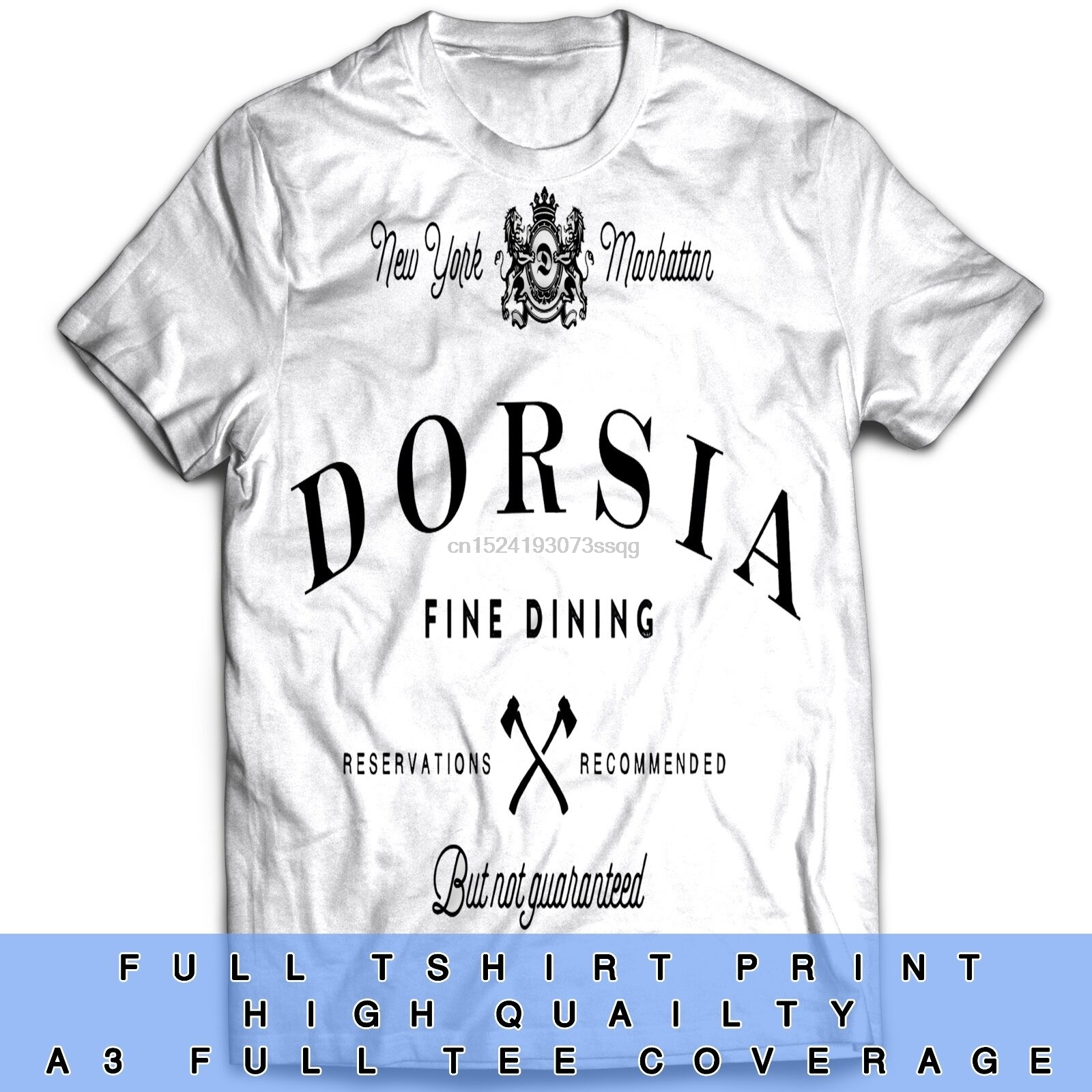 American Psycho Inspired Film Movie Horror Action Bateman Dorsia T Shirt