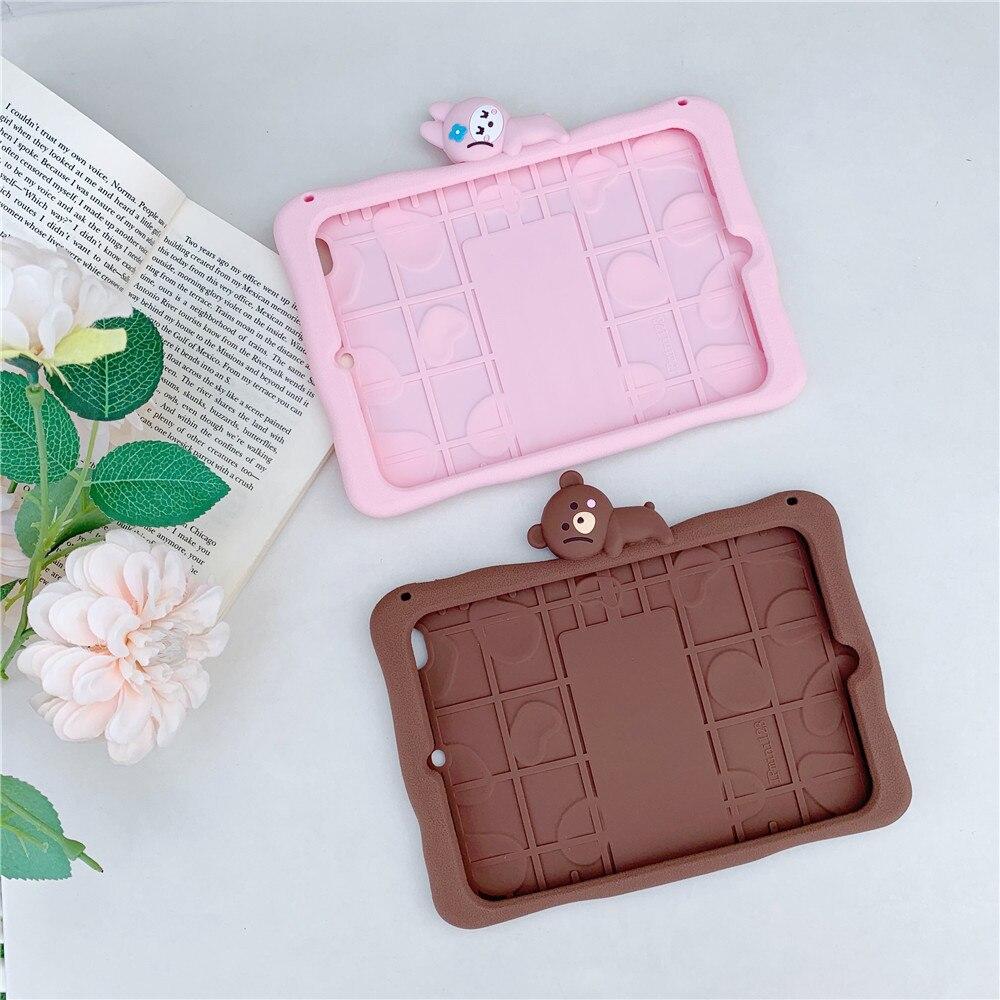 Cute Capa-Case Pro Soft Cartoon Silicon iPad Para-Cover for 11inch Tablet Funda Rabbit