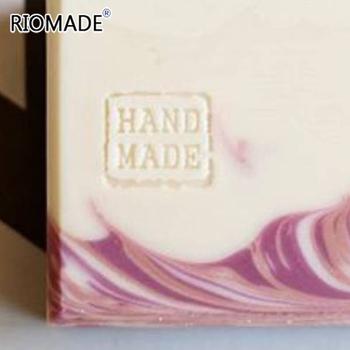 Ręcznie robiony tekst przezroczysty mydło znaczek przezroczysty Diy mydło naturalne drukowanie mydło akrylowe znaczki niestandardowe tanie i dobre opinie RIOMADE Other 3*3cm