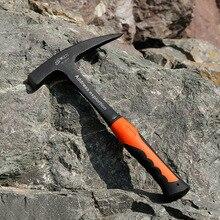 Профессиональный разведочный молоток с острым носком плоский молот молоток для стекла профессиональная горная компас геологический молоток