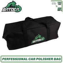 Batoca 6 x17 Polegada bolsa de ferramentas polisher saco multi-bolso ferramenta organizador com alça de ombro