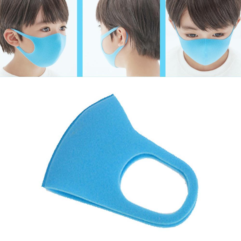 GloryStar 1pc/3pcs 3D Anti-fog Sponge Dustproof Washable PM2.5 Protective Mask For Kids