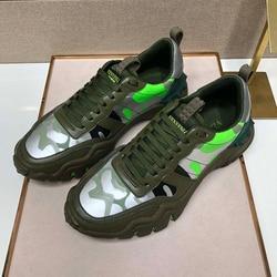 Vvl أحذية رياضية جلدية التمويه العلوي ، أحذية رجالي ، الأصلي الايطالية عالية الجودة والجلود ، وأعلى الفاخرة القياسية اليدوية ستة ألوان