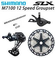SHIMANO SLX M7100 4PCS 1x12 12Speed 10 51T Groupset SL+RD+CS+HG M7100 Shifter Rear Derailleur Cassette Chain 126L