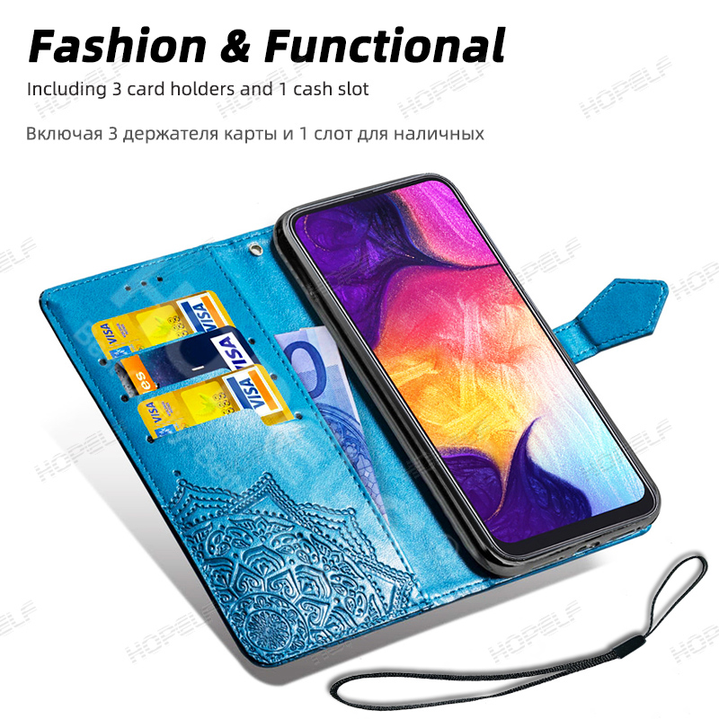 Had1f368ec2994d408a67cdceca9340d80 HOPELF For Xiaomi Redmi Note 7 8 Pro 6 Case Cover on Coque Filp Wallet Leather Case for Redmi 7A 8A 6A 6 7 8 Note 8t Phone Cases