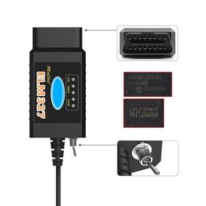 Image 3 - ELM 327 V 1 5 PIC18F25K80 FORScan ELM327 V1.5 USB OBD2 סורק CH340 HS יכול/MS יכול עבור פורד OBD 2 OBD2 רכב אבחון אוטומטי כלי
