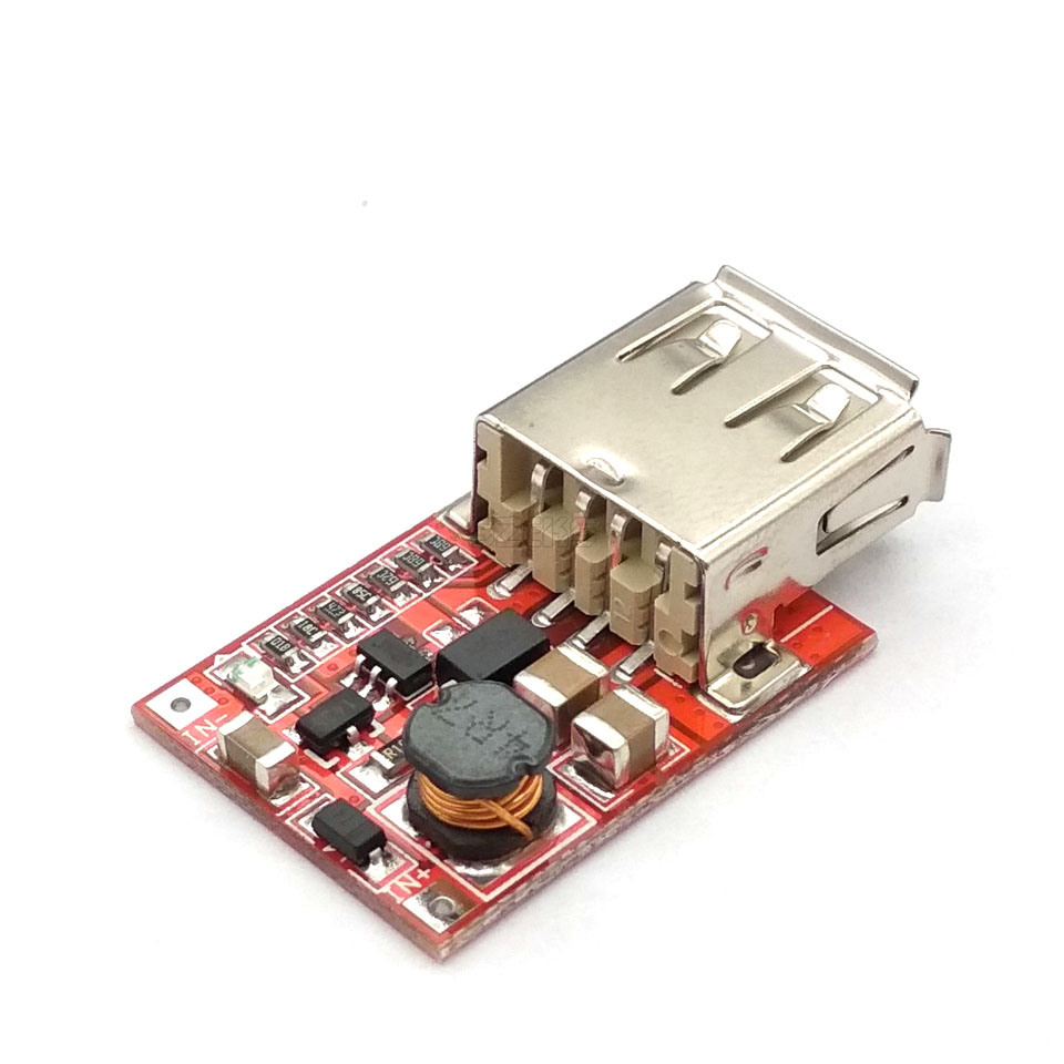 DC-DC Converter Output Step Up Boost Power Supply Module 3V To 5V 1A USB Charger For Phone MP3 MP4 96% Efficiency