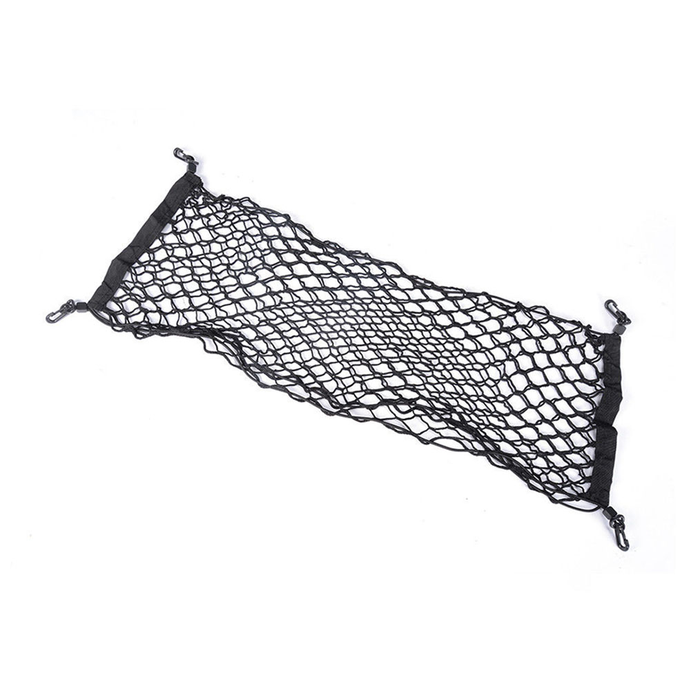 Vertical Elastic Mesh Trunk Protective Equipment Trucks Rear Large Capacity Stretchable Cargo Luggage Car Storage Net Universal image