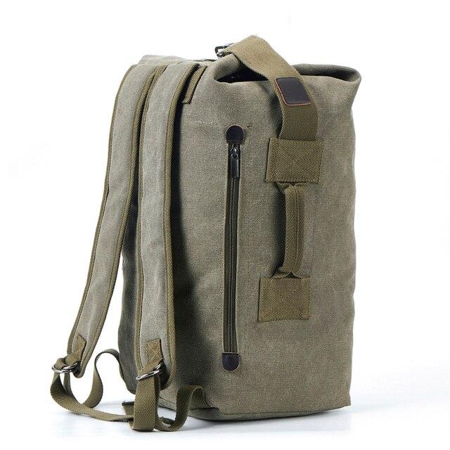 Мужские дорожные сумки в стиле Милитари