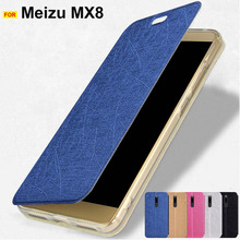 For Meizu X8 case Ultra thin stand leather case for Meizu X8 cover Mei