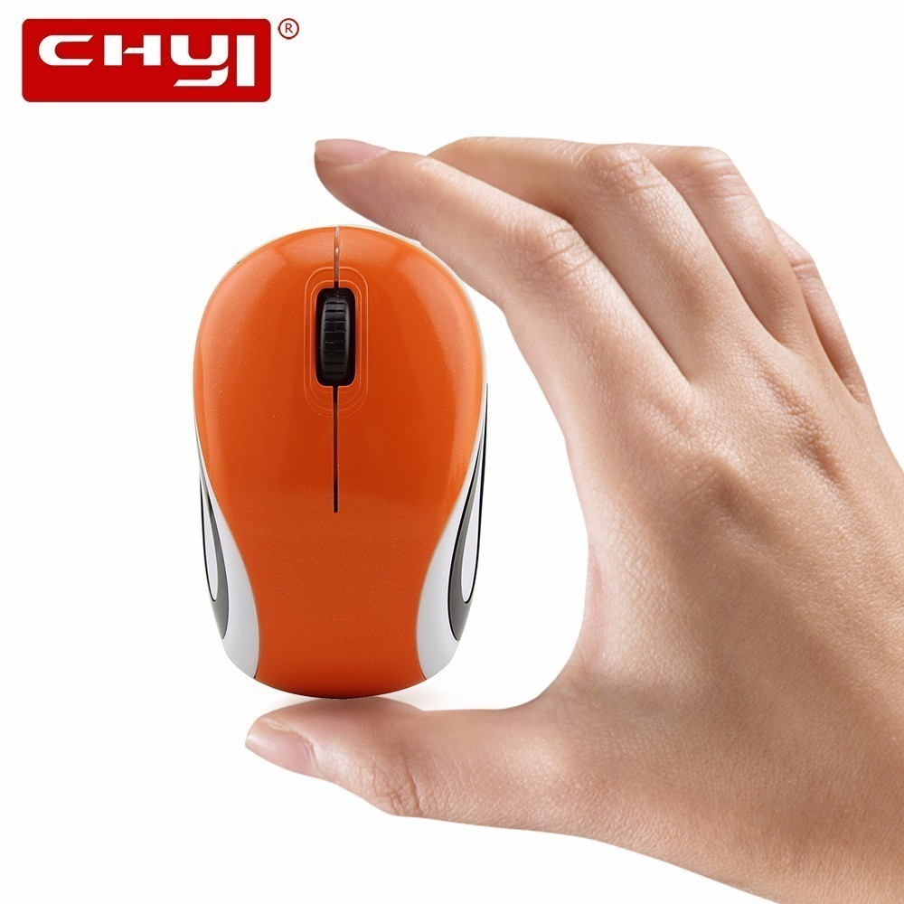 CHYI Mini Wireless Mouse For Kids 1600DPI Optical 3D Small Mause With USB Receiver Computer Gaming Mice For PC Laptop Notebook