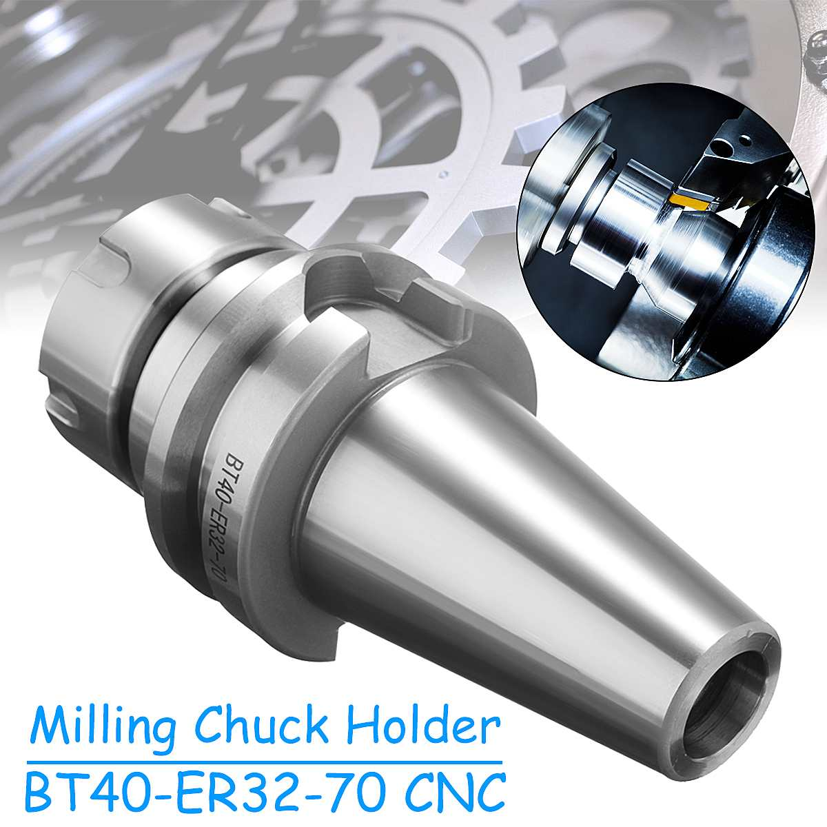ER11 Carbon Steel Drilling Machine Precision Spring Collet Chuck CNC Lathe Tool