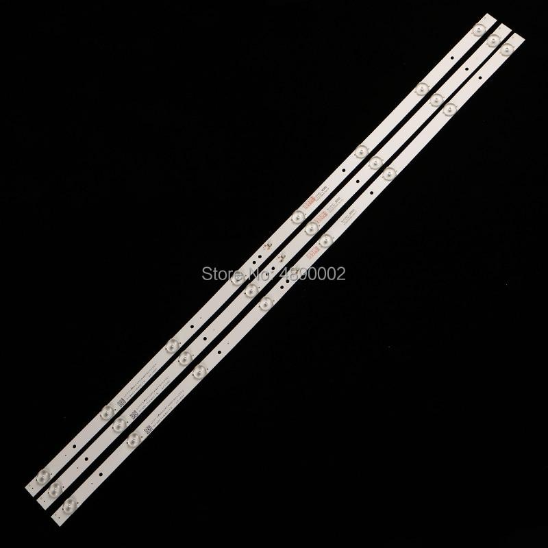 Original For Lehua 43BS3700 Light Strip K433030T030864J -- Rev1.1w 3 8 Light Beads