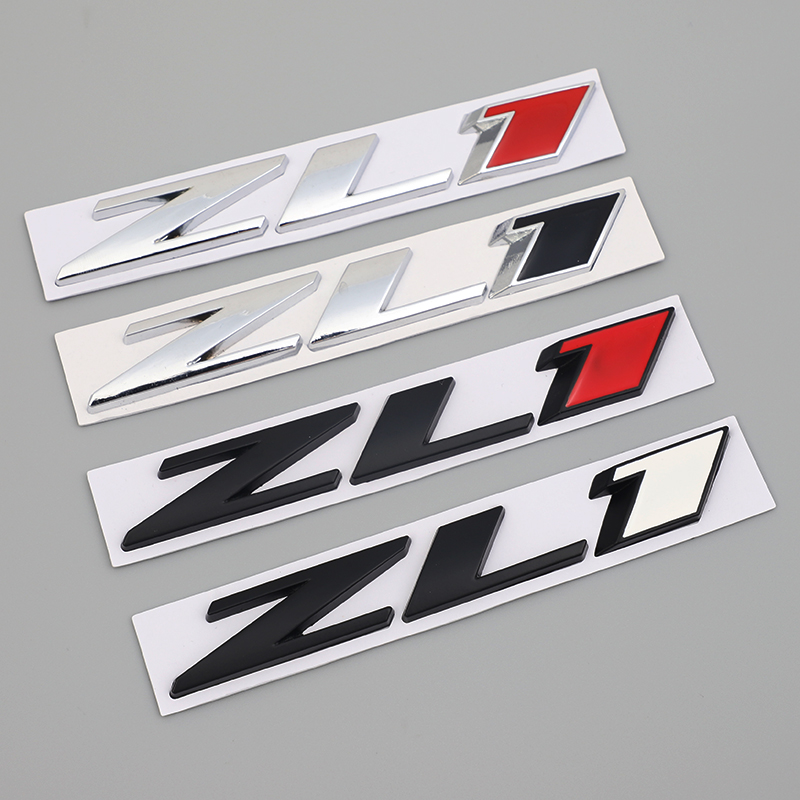Car Styling ZL1 3D Metal <font><b>Sticker</b></font> Body Trunk Emblem Badge Accessories For Chevrolet Camaro ZL1 Colorado Z71 <font><b>OFF</b></font> <font><b>ROAD</b></font> <font><b>4X4</b></font> SIERRA image