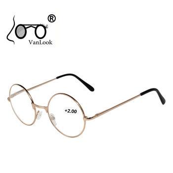 Ronda de Gafas de Lectura para hombres y mujeres 100 + 125,...