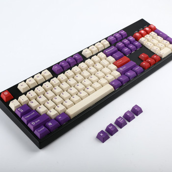 ZiLou Theme Five-sided PBT Sublimation Keycap Personality Mechanical Keyboard Keycap with FILCO Cherry GH60