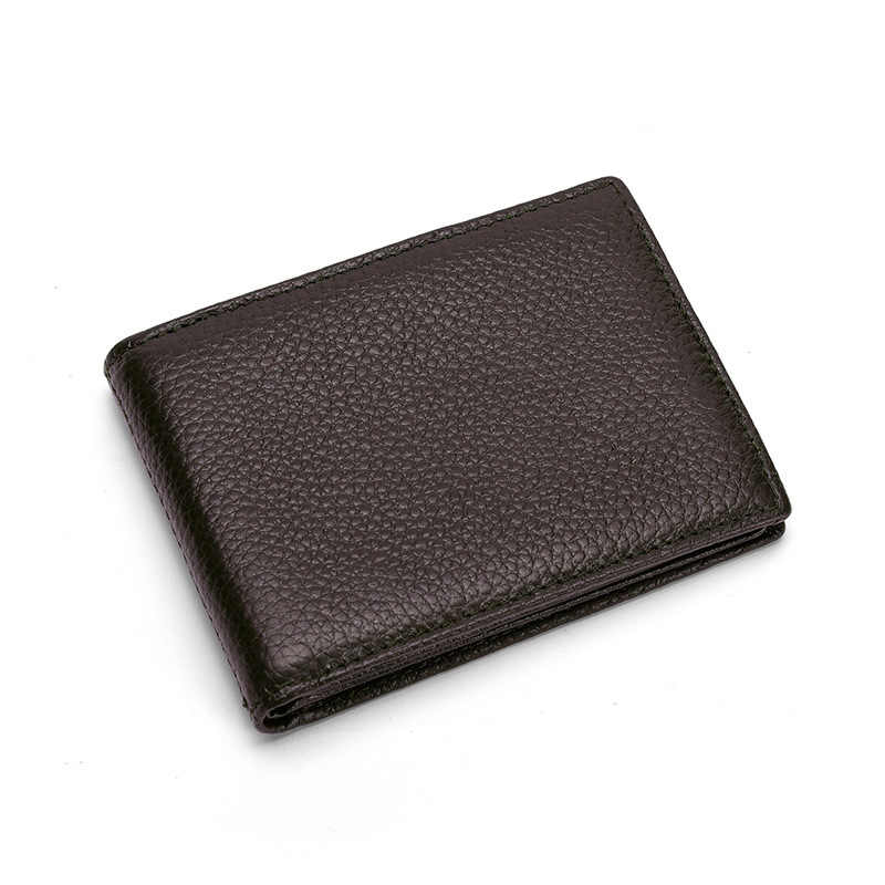 Unisex Leather 9 Card Slots Credit Card Holder Cover And Auto Driver license  Case Men Travel wallet 661