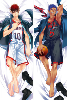He also has his own mistakes, his own fears (dogs are a scary animal), and of course he will sometimes dissatisfy people, like it or not. Anime Kuroko No Basuke Dakimakura Cover Taiga Kagami Kuroko Tetsuya Bolster Case Aomine Daiki Akashi Seijuro Body Pillowcase Buy At The Price Of 28 99 In Aliexpress Com Imall Com
