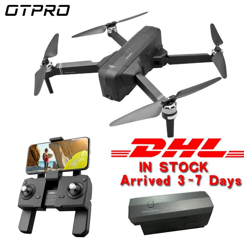 OTPRO 4K GPS Drone avec Wifi FPV caméra sans brosse quadrirotor pliable Dron RC MINI drones jouets dhl garçon cadeau 1080p caméra