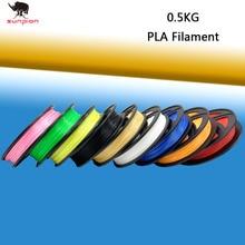 PLA filament 0.5kg 3D printer  0.5kg  filament 1 rolls 3D Printer Filament For 3D Pen 3D printer Non-toxic Protection Material