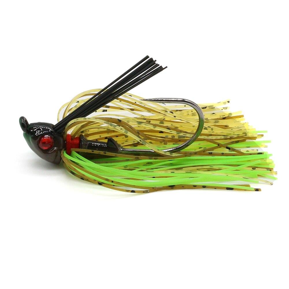 JonStar 1pc 7G/10G/15G Finesse Chatter bait spinnerbait fishing lure Buzzbait wobbler chatterbait for bass pike walleye fishing-4