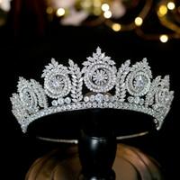 High Quality Bridal Crown European Wedding Hair Accessories Bride Crown Rhinestones Hair Tiaras Crown