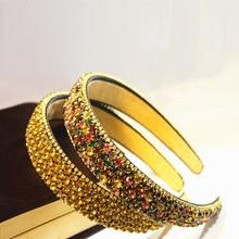 Fashion Headband Diamond Rhinestone Hair Accessories Boutique Bands Hoop for Women Haar Accessoires