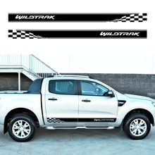 2 Pcs Gradien Racing Styling T Side Streep Grafische Vinyl Sticker Voor Ford Ranger Wildtrak 2012 -2014 2015-2019