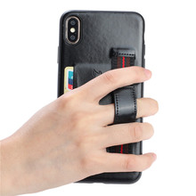 Wrist Strap Wallet Leather PU Case For iPhone 11 Pro Max XR X XS Max 7 8 6 6s Plus Luxury Phone Holder Cases Card Pocket Cover цена