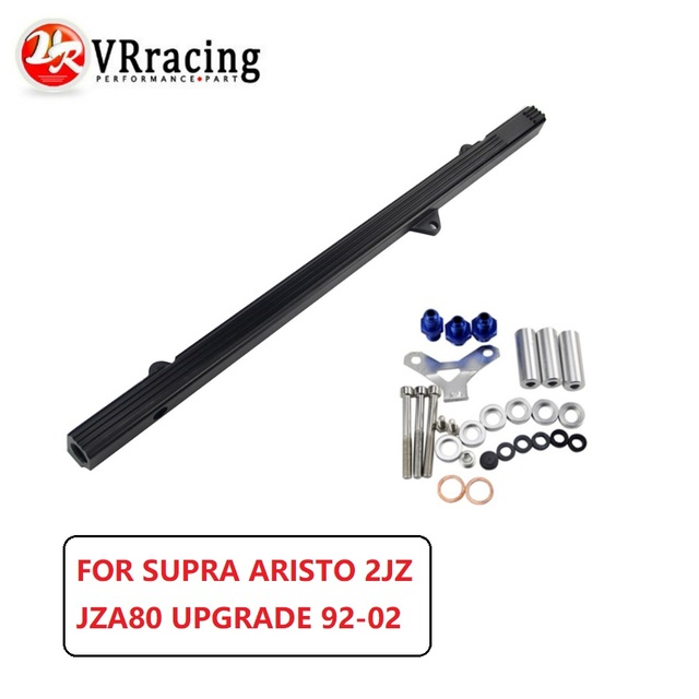 VR - NEW FUEL RIAL FOR TOYOTA SUPRA ARISTO 2JZ TURBO JZA80 UPGRADE 92-02 RACING FUEL RAIL KIT VR5433