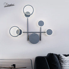 Modern Creative LED Lamp Wall Living Room Bedroom Bedside Sconces Minimalist Dining Room Balcony Aisle Wall Lights Deco Fixtures modern chinese style wood wall lamp wooden acrylic tree shape living room led bedroom bedside wall sconces