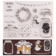 Maple Leaf Clear Stamps for Scrapbooking