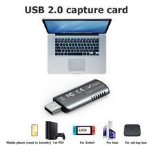 1080P 4K Video Capture Card USB 2.0 HDMI Video Grabber Record Box  PS4 Game DVD Camcorder HD Camera Recording Live Streaming