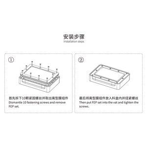 Image 5 - ANYCUBIC 3D Printer 2PCS Photon Zero FEP Film 141*97.5mm 3d printer parts for Photon Zero impresora 3d