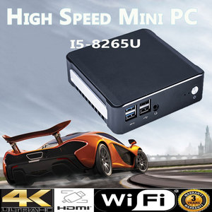 Image 5 - 2019 جديد جهاز كمبيوتر صغير إنتل i5 8265U 2 * DDR4 32GB RAM NVME M.2 SSD جيب كمبيوتر Nuc كمبيوتر مكتبي ويندوز 10 برو نوع c 4K HDMI2.0 DP