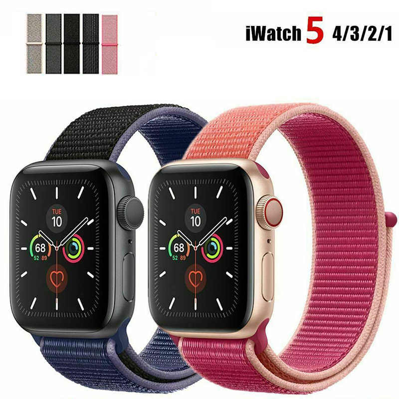 Soft Durable Sport Band For 38mm Apple Watch Series 2 3 42mm Wrist Bracelet Strap Smartwatch Accessories Comfortable Portable