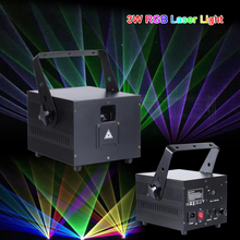 RGB Laser Stage-Light Dmx-Control Disco Animation Professional Party Full-Color 5W Event