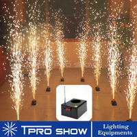 Mini Fireworks Base Wireless Remote Control Systems 8Cues 12Cues Wedding Machine Cold Fountain Stage Lighting Effect For Wedding