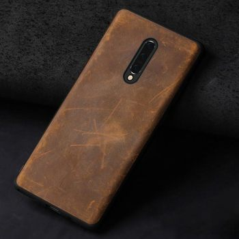 Natural PULL-UP leather case For Oneplus 8T 7 7T Pro 6 6T 5 5T 8 Pro Nord One Plus 360 Full Protective Crazy Horse leder cover