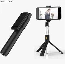 Selfie Bastone Bluetooth Senza Fili per smartphone Otturatore A Distanza Pieghevole Portatile Monopiede Allungabile Mini Treppiede
