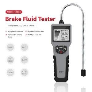 Image 2 - Teste para fluido de freio automotivo, testador para fluido de freio automotivo pontil5.1/pontil3/pontil4 bf100 bf200, detector de qualidade do óleo caneta de teste