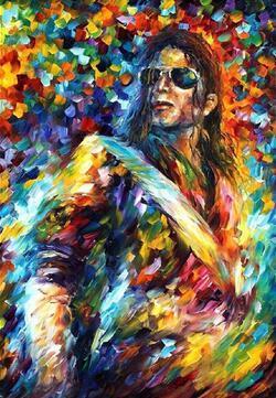 Lot style choisir Michael Jackson Art impression affiche en soie décor mural à la maison