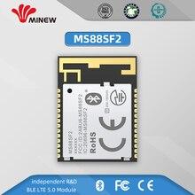 Усовершенствованный компактный и высокогибкий беспроводной модуль BLE 5,0 со сверхнизким энергопотреблением, основанный на nRF52840 SoCs, поддержк...
