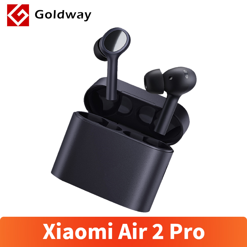 Nowy Xiaomi Air 2 Pro bezprzewodowe słuchawki ochrona środowiska redukcja szumów 3Mic TWS Mi prawdziwe słuchawki Airdots 2 Pro bezprzewodowe Stereo